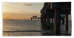 Pier 60 Sunset Bath Towel