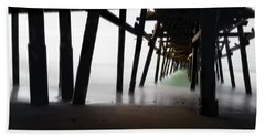 Hand Towel featuring the photograph Pier Pressure by Sean Foster
