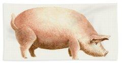 Pig Bath Towel