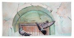 Pigeon Perch Hand Towel