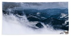 Bath Towel featuring the photograph Pikes Peak by Anthony Baatz