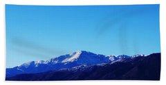 Bath Towel featuring the photograph Pikes Peak by Joseph Frank Baraba