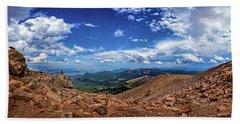 Pikes Peak Summit Vista #2 Hand Towel
