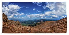 Pikes Peak Summit Vista #2 Bath Towel