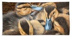 Pile O' Ducklings Bath Towel