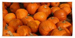 Pile Of Pumpkins Hand Towel