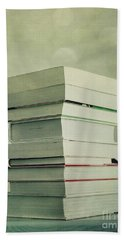 Piled Reading Matter Hand Towel
