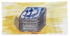 Pill Box Hand Towel