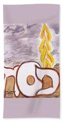 Pillar Of Fire Hand Towel