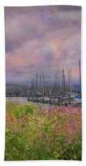 Pillar Point Harbor Bath Towel