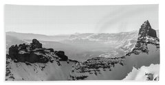 Pilot And Index Peaks B/w Hand Towel