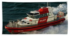 Pilot Boat Wellington Hand Towel