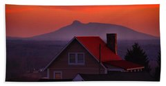 Pilot Sunset Overlook Bath Towel
