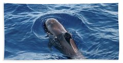 Pilot Whale 2 Bath Towel