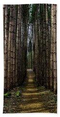 Pine Path  Hand Towel
