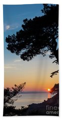 Pine Tree Hand Towel by Delphimages Photo Creations