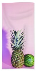 Pineapple And Watermelon Hand Towel