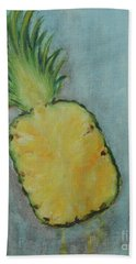 Pineapple Hand Towel by Jane See