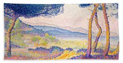 Pines Along The Shore, 1896 Hand Towel