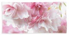 Pink April Bath Towel by Kim Tran