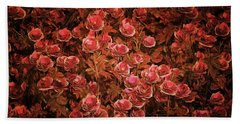 Pink Bionica Roses Bath Towel