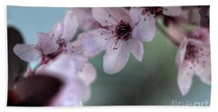 Hand Towel featuring the photograph Pink Blossoms by Jim and Emily Bush