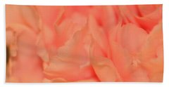 Pink Carnations Bath Towel