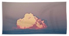 Hand Towel featuring the photograph Pink Cloud by Stephanie Moore