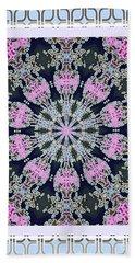 Pink Deco Medallion Bath Towel