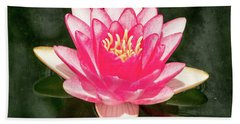 Pink Lily Hand Towel