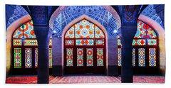 Pink Mosque, Iran Hand Towel