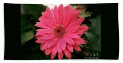 Pink Passion Hand Towel by Christy Ricafrente