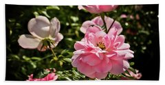 Bath Towel featuring the photograph Pink Passion  by Joann Copeland-Paul