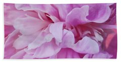 Pink Petals Bath Towel