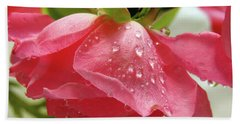 Pink Rose #3 Bath Towel