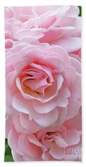 Pink Rose Cluster IIi Bath Towel