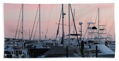 Pink Skies Hand Towel by Nance Larson
