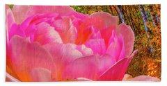 Pink Woods #e1 Bath Towel by Leif Sohlman