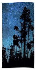 Bath Towel featuring the photograph Pinnacle Of The Forest  by James BO Insogna