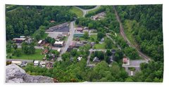 Pinnacle Overlook In Kentucky Hand Towel