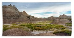 Pinnacles Of The Badlands Hand Towel