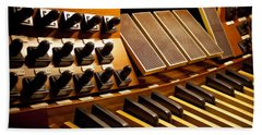 Pipe Organ Pedals Bath Towel