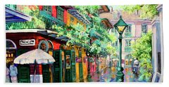 Pirates Alley - French Quarter Alley Hand Towel