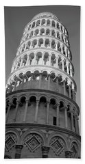 Bath Towel featuring the photograph Pisa Tower by Ivete Basso Photography
