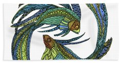 Pisces Bath Towel