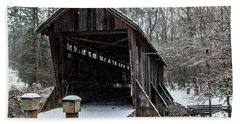 Pisgah Covered Bridge - Modern Bath Towel