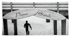 Pismo Beach  Hand Towel
