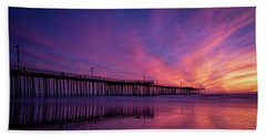 Pismo's Palette Hand Towel by Sean Foster