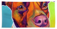 Pit Bull - Red Hand Towel