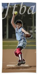 Pitcher Hand Towel by Kelley King